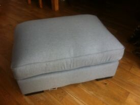 BRAND NEW footstool duck egg blue