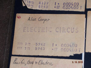 ROCK CONCERT TICKET STUBS Kitchener / Waterloo Kitchener Area image 5