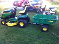 Lawn mowing and trimming and pressure washing available