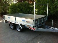 Flat bed trailer dale Kane plant trailer car transporter trailers