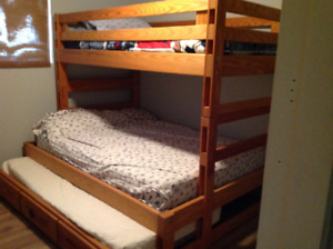 Crate Design, bunk bed,  double bed, twin