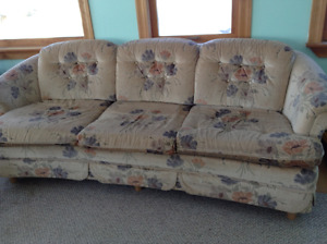 Couch, matching chair