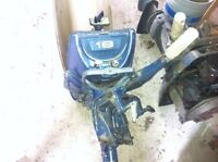 18 hp Evinrude outboard with parts motor