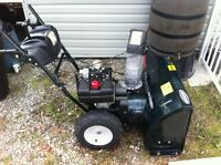 "Conquer The Snow This Year: Mint condition 28"" Snowblower!"