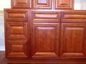 All Wood Kitchen Cabinets Set, Brand New Kitchener / Waterloo Kitchener Area image 3