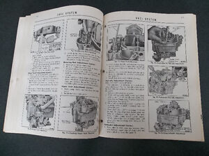 1956 Mercury shop manual London Ontario image 9