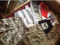 Joblot bundle men's clothes size 32/M used £8