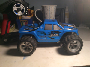 Speed action Rc truck