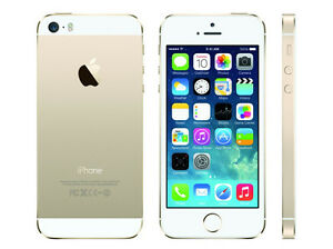 Apple iPhone 5S, 16GB, Gold, Bell/Virgin Mobile (4162)