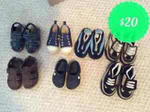 Boy shoe lot