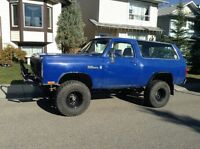 1984 ram charger SUV lifted in great Shape