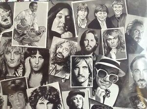 "TONY MEERS TRIBUTE ROCK LEGENDS. LAMINATED FRAME 24""X36"" Gatineau Ottawa / Gatineau Area image 7"