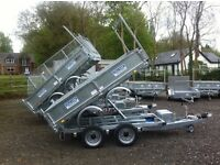 Tipper trailer Dale Kane electric tipping trailer 3 ton