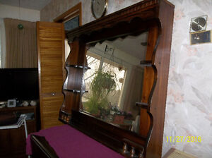 Mirror Solid Wood Frame With Shelves Kawartha Lakes Peterborough Area image 2