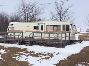 30' Travel trailer for free