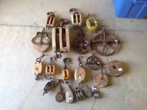 Pulleys - functional or decorative