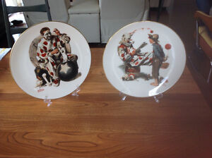 Assiette Normand  Rockwell