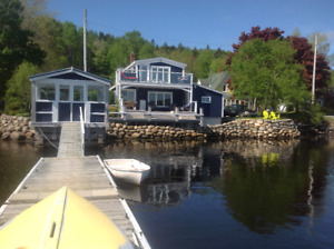 Oceanfront/riverfront cottage in Lahave, Nova Scotia