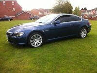 BMW 645CI BLUE COUPE PANORAMIC ROOF, LONG MOT (6 SERIES 645, 630 ci, 635d, 745) px