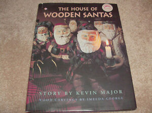 The House of Wooden Santas-AUTOGRAPHED!