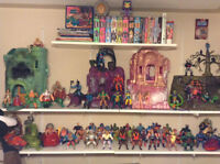 He-Man and the Masters of the Universe memorabilia