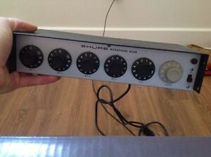 Mixer XLR Shure M68