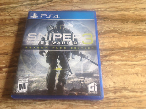 Sniper 3 Ghost Warrior for the PS4