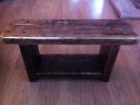 Small 'Jacobean' Rustic Bench