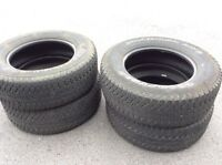 Set of 4 truck tires