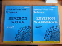 GCSE Science Revision Workbook and Science Revision Guide Higher