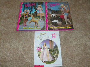 3 children's BARBIE BOOKS London Ontario image 1