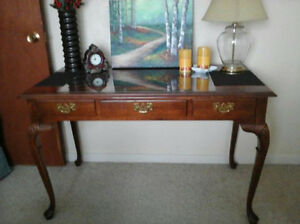 Beautiful Antique Solid Wood Writers Desk & More.