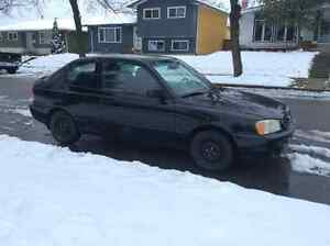 2001 Hyundai Accent GS Coupe (2 door)