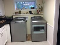 GE PROFILE WASHER & DRIER