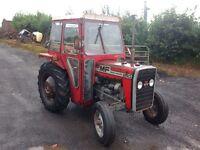 Massey Ferguson tractor 240 with QD Cab Craft