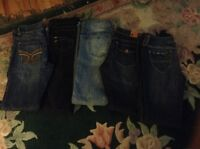 Bundle of brand name jeans / 28s / all like new