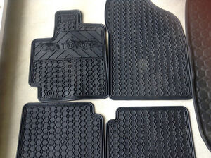 Toyota Matrix all season mats and Matrix trunk liner
