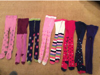 Girls tights age 5/6