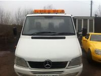 Mercedes recovery truck