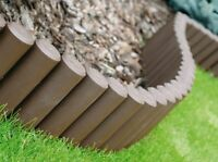 Hq Very Strong Garden Fence Lawn Edging Boarder Edge Palisade Fencing 2.1 M -  - ebay.co.uk