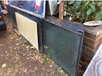 Free, glass units, green house, allotment