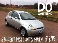 Ford Ka Collection 2005 reg low mileage