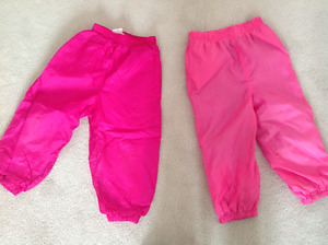 Splash pants size 2 and size 3 $4 per pair!