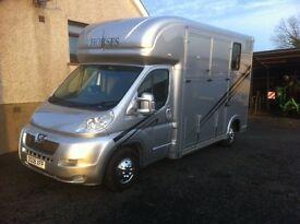New Coachbuilt 3.5 tonnes Horsebox / Horse Lorry - PRICE REDUCTION.