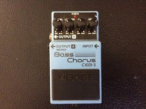 Boss Bass Chorus CEB-3