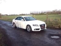 24/7 Trade sales NI Trade prices for the public 2008 Audi A4 2.0 TDI S-Line White Full mot