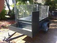 L@@K NEW>EXTREME H/DUTY 8X5 CAGE MOWER TRAILER>AUSSI BUILT Brisbane Region Preview