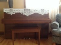 Yamaha Piano and Bench