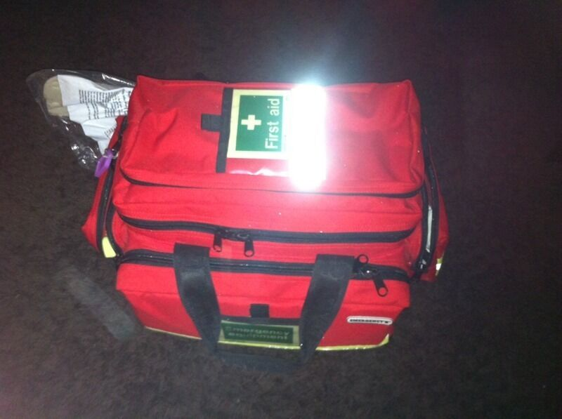 First responders first aid kit.