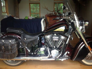 2003 Indian Chief Deluxe Gilroy Bottle Cap 100 ci NOW $14,750.00